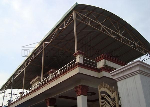 Mẫu mái vòm sân thượng