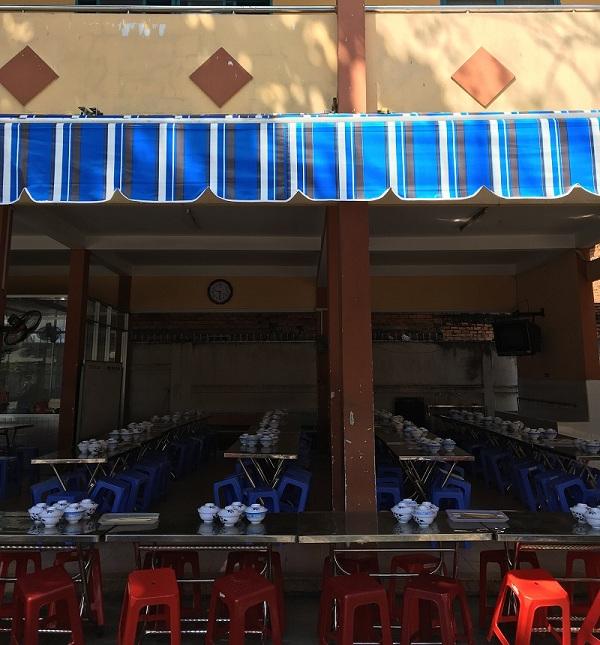 Mái che nhà hàng di động