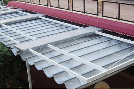 Cách sử dụng và bảo quản mái che di động vào mùa mưa