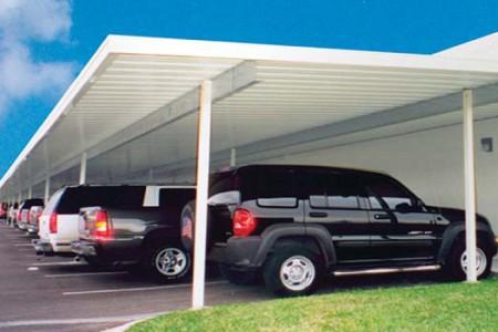 Kinh nghiệm chọn mái che cho nhà để xe